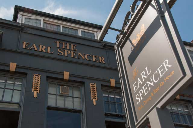 The Earl Spencer Pub 260-262 Merton Road Southfields, SW18 5JL